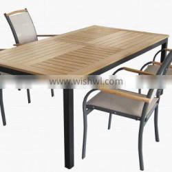 CH-T030 dining table set outdoor furniture