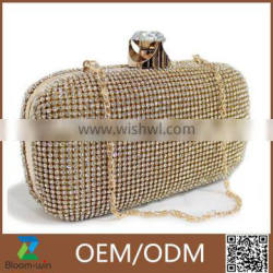 Hot New style Women Clutch Bag Pearl Beaded Party Wedding Evening Bag