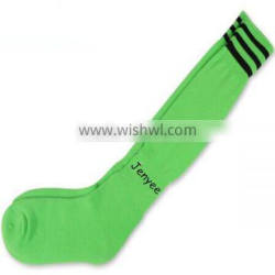 Polyester neon color sports American football socks