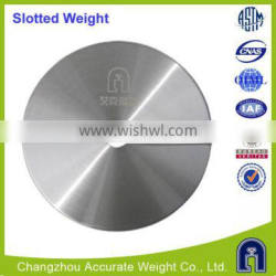 M1 slotted weight calibration weight manufacturer