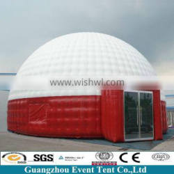 Dia 15m geodesic inflatable tent for outdoor events