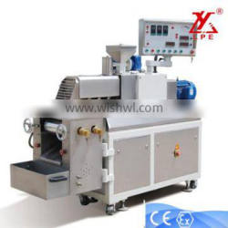 Continuous rotary extrusion machines