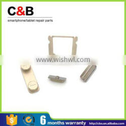 for iPhone 5S Parts,Side buttons and Sim card tray for iPhone 5S