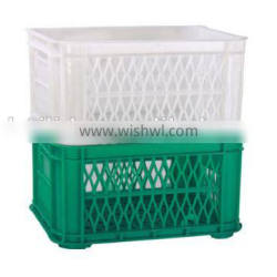 Small stackable plastic crate M-001