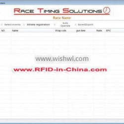 Swimming Timing System with Timing Software