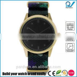 double face watch miyota movement 3atm water resistance fashion stainless steel case design watch
