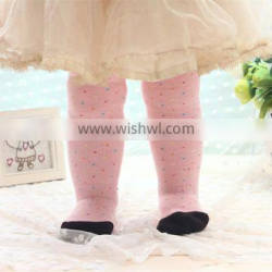 factory hot sale winter warm fashion tights pantyhose for baby infant and school girl