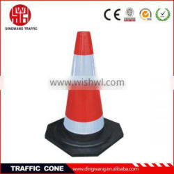 popular high quality white and red traffic cone