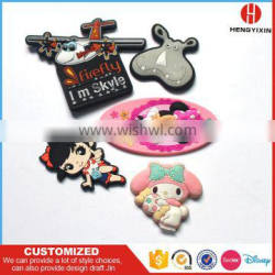 2017 hot promotional gifts with custom designs soft PVC fridge magnet