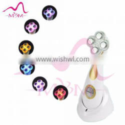 Best red blue yellow led light therapy facial equipment