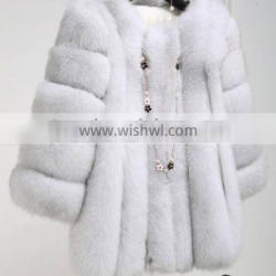 2016 New Goods Wholesale Short Style Sex Real Fox Fur Coat for Luxurious Women