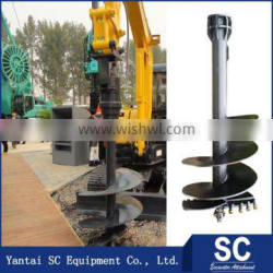Tree Planting Earth Auger Hole Drill Bits For SK35 Sale