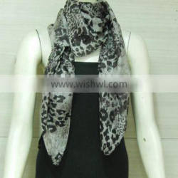 fashionable fancy printed silk scarf 90*90cm