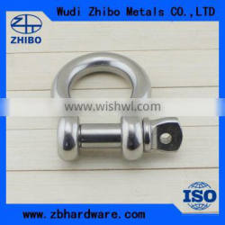 Stainless Steel Rigging Hardware,High Strength Marine Supplies Stainless Steel Anchor Shackle for Boat