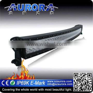 IP68K 50 inch curved bright led work light