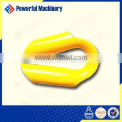 WITH OR WITHOUT STUD WIRE ROPE TUBE THIMBLE