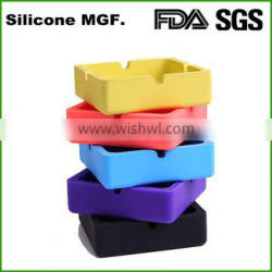 Custom cigar ashtray silicone rubber ashtray promotion gifts