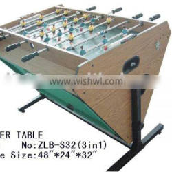 Multi-function soccer table(3 in 1)with MDF Board