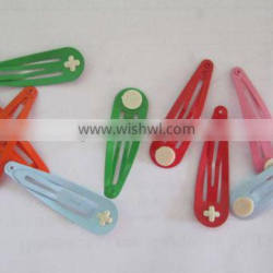 high quality various color hair clip for decoration