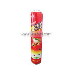 China aerosol container empty 750ml and empty aerosol can for insecticide