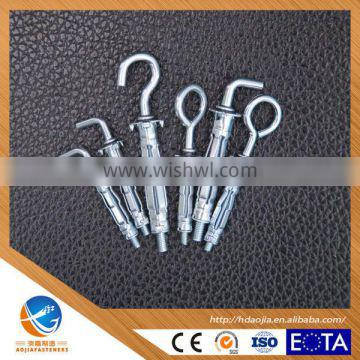 Fashion Best Selling Zinc Iron Expandable Hollow Wall anchors 6*30 8*50 10*60