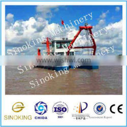 China good quality 22 inch hydraulic cutter suction dredger from china dredger factory