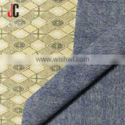 shaoxing textile knitted polyester viscose spandex high fancy knit fabric for dress