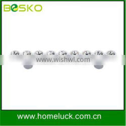 crystal cabinet handles and knobs zinc handles in high quality