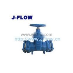 cast iron resilient seated gate valve