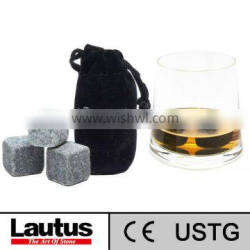 whisky stone lautus item 10019-2 for cold drink passed ISO9001,CE,USTG