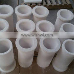 Refractory Zircon 333 tubes, spouts,orifice,plungers for glass furnace feeder channels