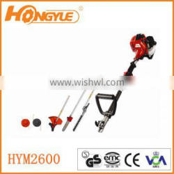 Petrol Strimmer BrushCutter Trimmer Chainsaw BrushCutter 4 in 1 hedge trimmer HYM2600/3050/4150