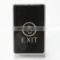 Push Button Switch PY-DB21-1 Fingerprint Touch Exit Door Button widely used for Access Control System