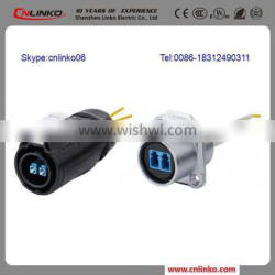 CE/UL Approved French Plug Adaptor Waterproof Wire Connectors Fiber Fast Connector