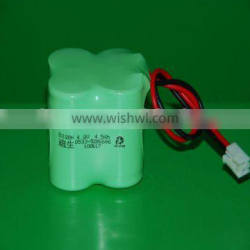Ni-MH Rechargeable 4.8V Battery Pack