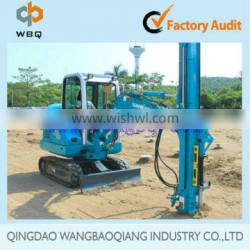 Spiral Piling Machine for ground screw and solar monunting