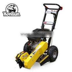 2014 South America EXPO invited product commercial industrial petrol power wood stump grinder for sale