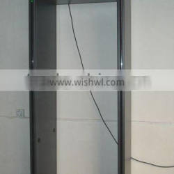 Airport security inspection door frame metal detector with ip camera and infrared alarm