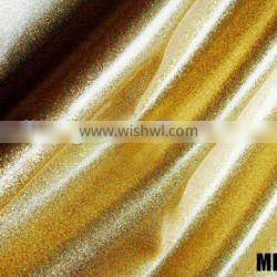 PU synthetic leather with mirror & sparking surface artificial leather MD16052