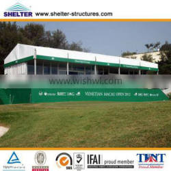 Tempering Double Glass Door tent With Stair And Balcony Used for Big Tent, Small Tent
