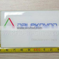 Blank Disposable RFID Print Barcode Labels for Access Control System