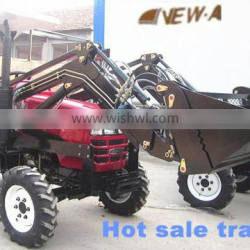 2016 35hp 4WD NEW354 tractor with front end loader and backhoe farm tractor