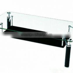 12mm thick flat Tempered glass coffee table