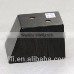 WSL-007 Stable high quality with competitive price furniture leg OEM sofa leg furniture parts wooden sofa leg