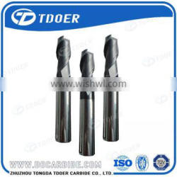 China Double Flute Carbide Ball Nose End Mills