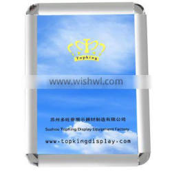 A1 A2 A3 A4 front loading Aluminium snap frame poster frame