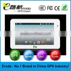 7 Inch Tablet PC Built-in Gps Navigation Android 4.0 NAND Flash 8GB