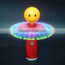 small light up windmill with smile face