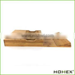 Bamboo In-Drawer Knife Block Stand Holder Storage Organizer Homex BSCI/Factory