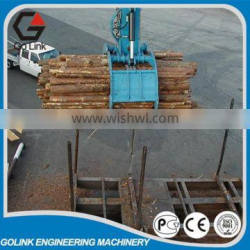 excavator hydraulic rotating timber grab/log grab/hydraulic grapple